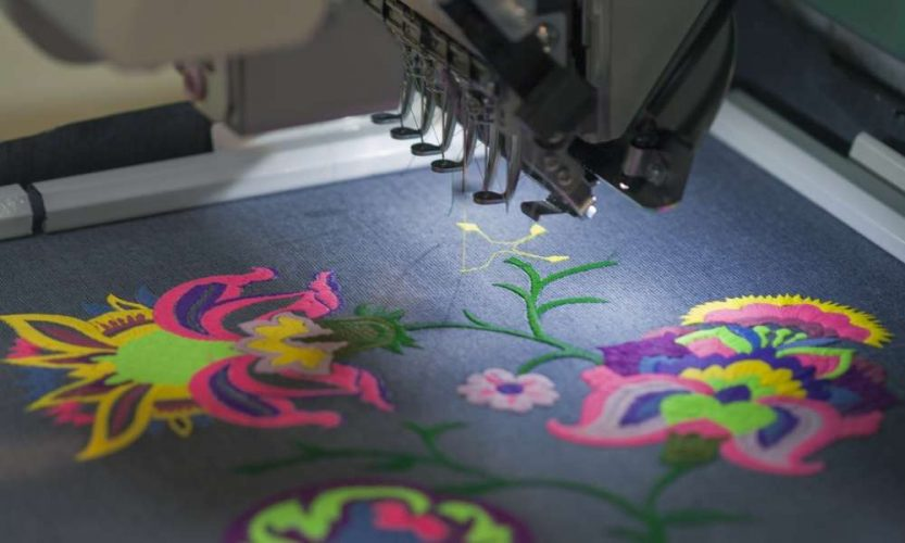 Basic tools used in creating machine embroidery appliqué designs